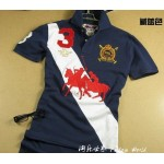 Camisa Polo Azul Escuro Dual Match Ralph Lauren - Cod 0084