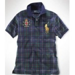 Camisa Polo Xadrez Tartan Ralph Lauren - Cod 0081
