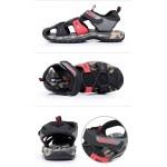 Sandálias Masculino de Couro para uso diário e Praia 0816