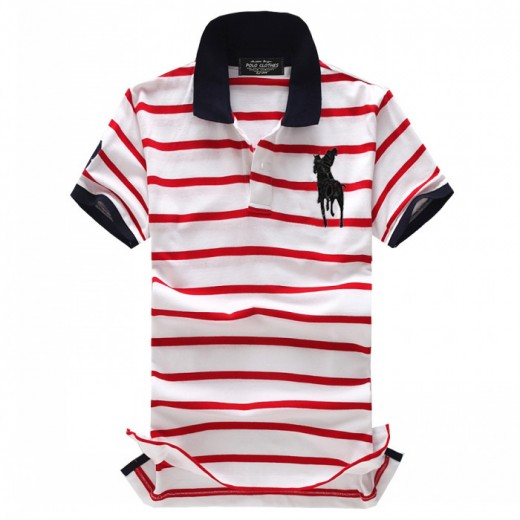 Camisa Polo Masculino Ralph Lauren com Listas Cod 0517