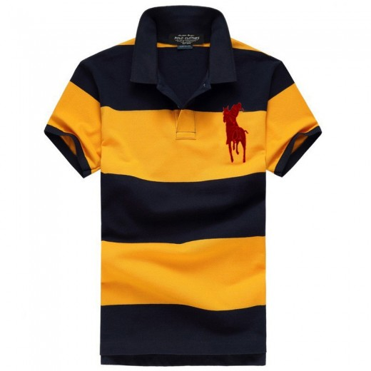 Camisa Polo Masculino Ralph Lauren com Listas Cod 0516 ca6f406129f