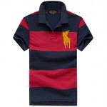 Camisa Polo Masculino Ralph Lauren com Listas Cod 0516