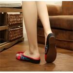 Sandália rasteira bordado para mulher 0831