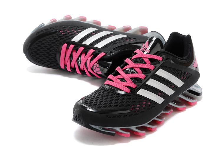 a9c0fae61eb Tênis Adidas SpringBlade Razor Feminino Cores Preto e Vinho Brilhante Cod  0403