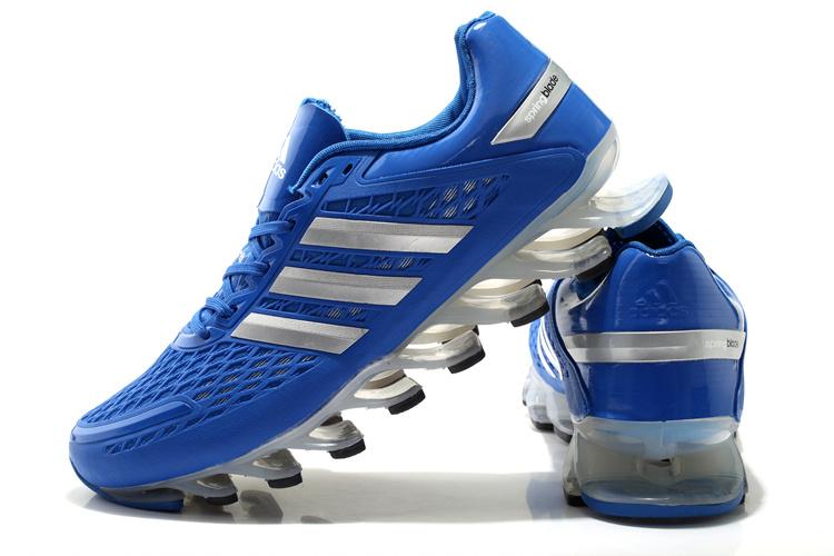 online store ca805 77084 hot adidas springblade 4 mens shoes 5641f 4c912  shop tênis adidas  springblade razor azul prata cod 0330 fe114 daa0f