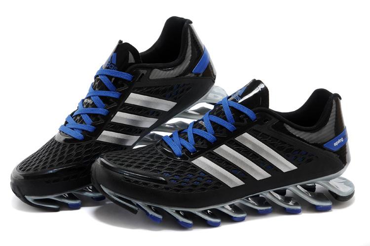 Tênis Adidas SpringBlade Razor Preto e Azul Cod 0396 c3962b608ada7